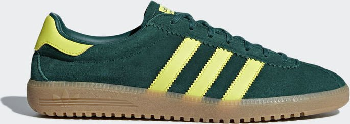 a9f4e854ebe adidas Bermuda collegiate green shock yellow gum (men) (B41472 ...