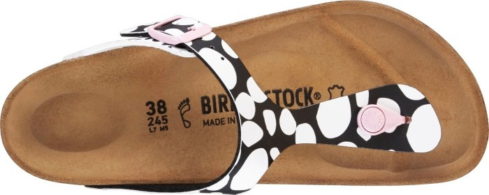 af0895a24d0437 Birkenstock Gizeh two-tone dots black white ab € 65 (2019 ...