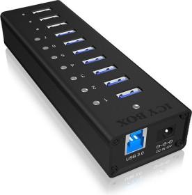 RaidSonic Icy Box IB-AC6703 USB-Hub, 7x USB-A 3.0, USB-B 3.0 [Buchse] (60136)