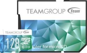 TeamGroup Color Card II blue/green R90/W45 microSDXC 128GB Kit, UHS-I U3, Class 10 (TCIIUSXH128GU352)