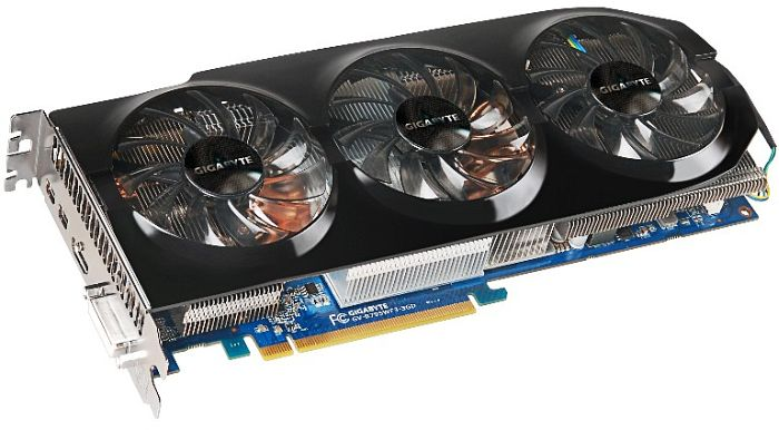 Gigabyte Radeon HD 7950 Boost, 3GB GDDR5, DVI, HDMI, 2x Mini DisplayPort (GV-R795WF3-3GD)