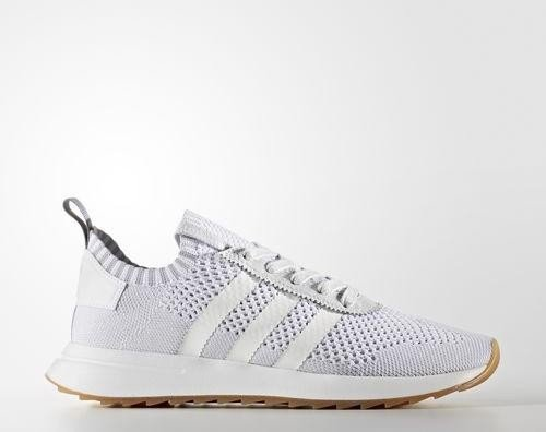 new product 899a2 c7b9a adidas Flashback Primeknit whiteclear grey (Damen) (BY9099)