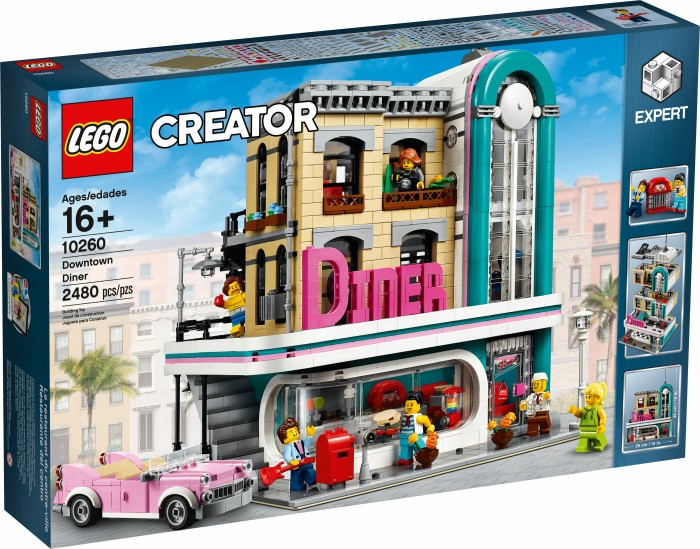 LEGO Creator Expert - Downtown Diner (10260) from £ 129 99