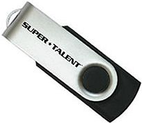 Super Talent SM-Serie schwarz 2GB, USB-A 2.0