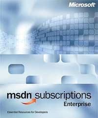 Microsoft MSDN 7.0 Enterprise - 2 years (English) (PC) (44193-2Y)