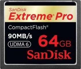 SanDisk R90/W90 CompactFlash Card [CF] Extreme PRO 64GB (SDCFXP-064G-E91)