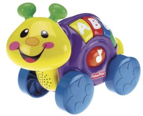 Fisher-Price Laugh /& Learn Roll-Along Snail Fisher Price L6362