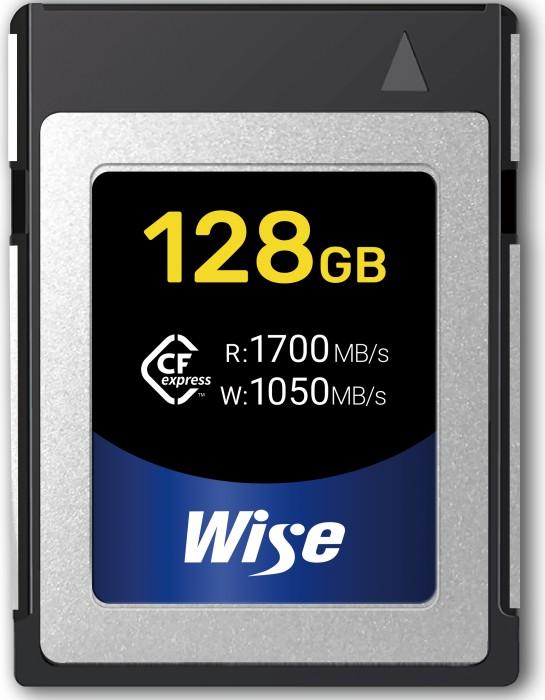 Wise Advanced CFX-B Series R1700/W1050 CFexpress 1.0 Type B 128GB (CFX-B128)