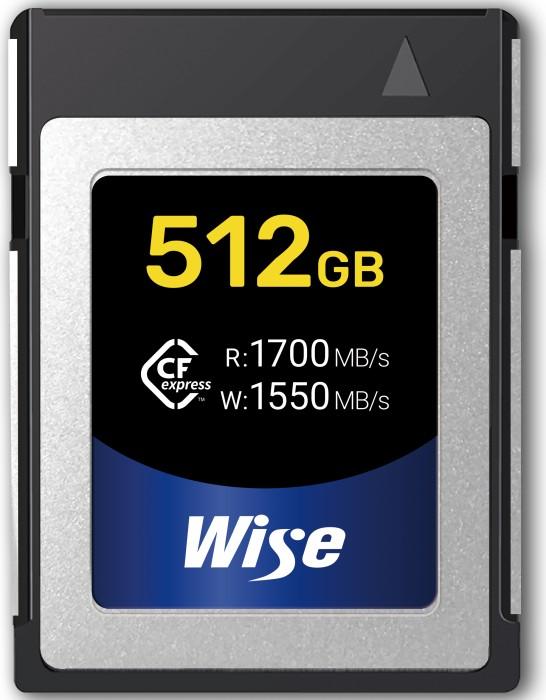 Wise Advanced CFX-B Series R1700/W1550 CFexpress Type B 512GB (CFX-B512)