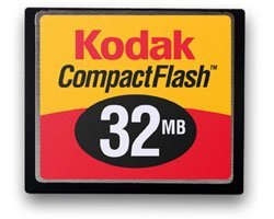 Kodak CompactFlash Card (CF) 32MB (1806900)