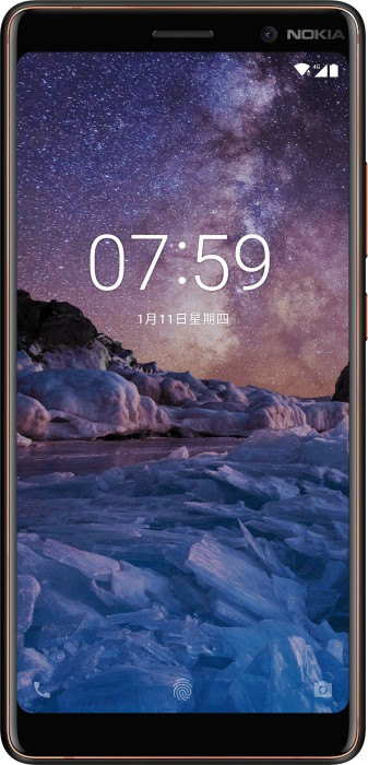 Nokia 7 Plus Single-SIM schwarz