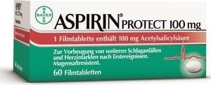 Bayer Aspirin Protect 100mg gastroresistant tablets, 60 pieces -- © ApoMedifot.de