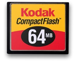 Kodak CompactFlash Card (CF) 64MB (8021503)