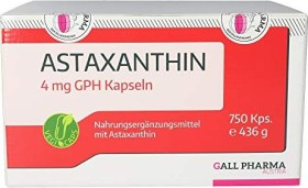 Astaxanthin 4mg GPH capsules, 750 pieces