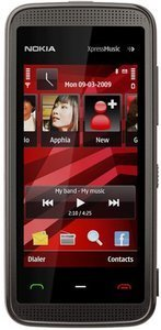 Nokia 5530 XpressMusic black red
