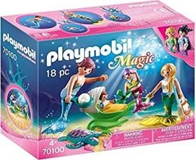 playmobil Magic - Familie mit Muschelkinderwagen (70100)