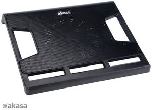 Akasa Quasar Widescreen notebook cooler, black (AK-NBC-32)