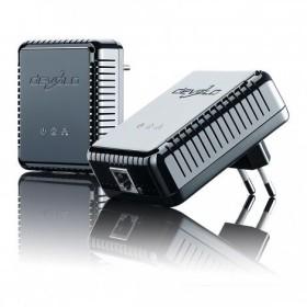 devolo dLAN 200 AVpro mini Starter Kit, HomePlug AV, RJ-45, 2er-Pack (1092)