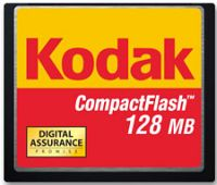 Kodak CompactFlash Card (CF)  128MB (1214113)