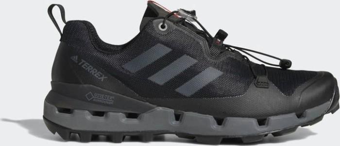 adidas Terrex Fast GTX Surround core black grey five hi-res red ab ... d40f5c7e2