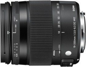 Sigma Contemporary 18-200mm 3.5-6.3 DC macro HSM for Pentax K (885961)
