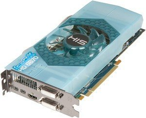 HIS Radeon HD 6870 IceQ X, 1GB GDDR5, 2x DVI, HDMI, 2x Mini DisplayPort (H687QN1G2MW)
