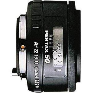 Pentax smc FA 50mm 1.7 schwarz (20907)