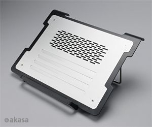 Akasa alps notebook cooler, silver (AK-NBC-30AL)