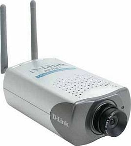 D-Link SecuriCam DCS-2100+, wireless network camera, 22Mbps