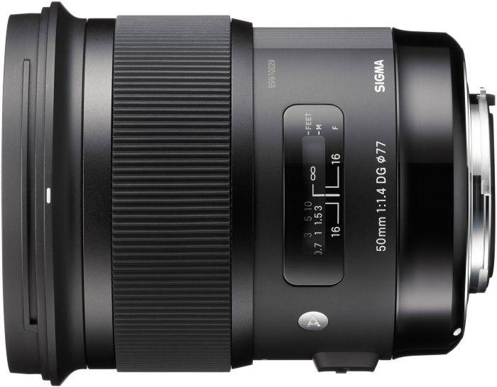 Sigma Art AF 50mm 1.4 DG HSM für Canon EF schwarz (311954)