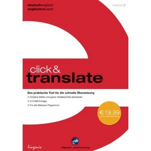 Digital Publishing click & translate 3.0 englisch (PC)