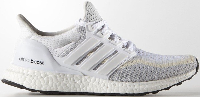 82228dc57d710 adidas Ultra Boost ftwr white clear grey core black (ladies) (AF5142 ...