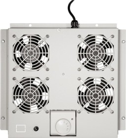 """LogiLink Canovate 19"""" roof fan tray grey, fan module, 4 fan (FAS122G)"""