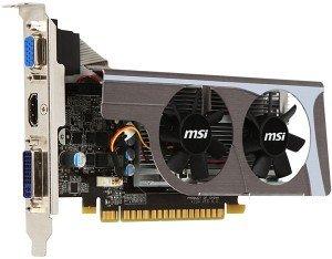 MSI N440GT-MD1GD3/LP, GeForce GT 440, 1GB DDR3, VGA, DVI, HDMI (V230-044R)
