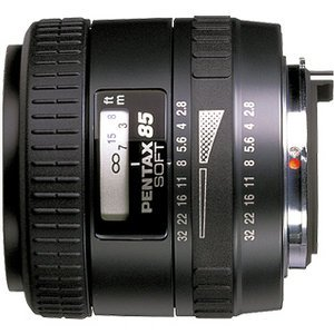 Pentax smc FA 85mm 2.8 Soft black