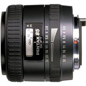 Pentax smc FA 85mm 2.8 Soft schwarz