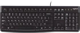 Logitech K120 Keyboard black, USB, HU (920-002491)