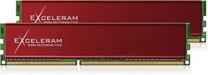 exceleram Red Culvert DIMM Kit  4GB PC3-10667U CL7-7-7-21 (DDR3-1333) (E30117A)