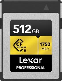 Lexar Professional R1750/W1000 CFexpress Type B 512GB (LCFX10-512CRB)