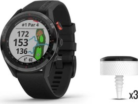 Garmin Approach S62 und CT10 Bundle GPS-Golfuhr schwarz (010-02200-02)