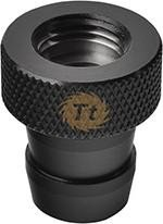 "Thermaltake Pacific Fill port G1/4"" for 1/2"" tube, black (CL-W038-CU00BL-A)"
