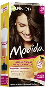 Garnier Movida hair dye 45 dark brown