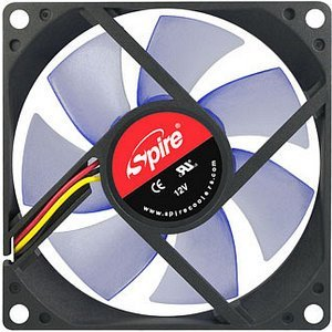 Spire BlueStar 90, 90x90x25mm, 2000-3500rpm, 65.3m³/h, 19dB(A) (SP09025S3L3/4)