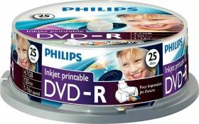 Philips DVD-R 4.7GB, 25-pack printable (DM4I6B25F)