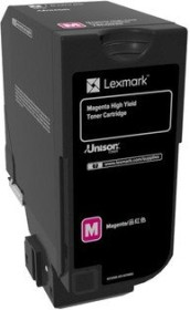 Lexmark Toner CS725 magenta hohe Kapazität (74C0H30)