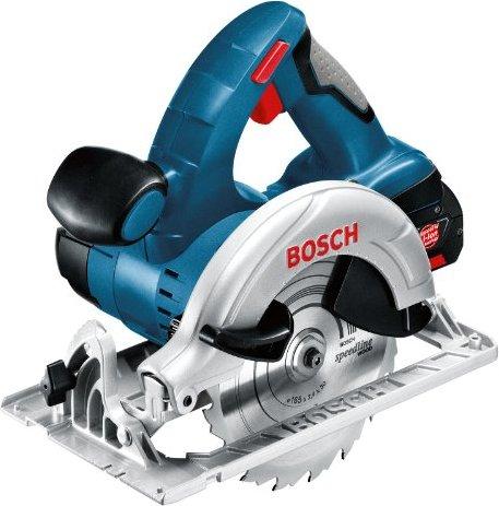 Bosch Professional GKS 18 V-LI Akku-Handkreissäge inkl. L-Boxx + 2 Akkus 3.0Ah (060166H004) -- via Amazon Partnerprogramm