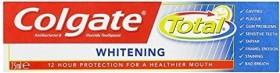 Colgate total Whitening toothpaste, 75ml