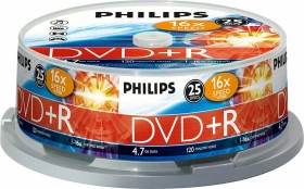 Philips DVD+R 4.7GB, 25-pack (DR4S6B25F)