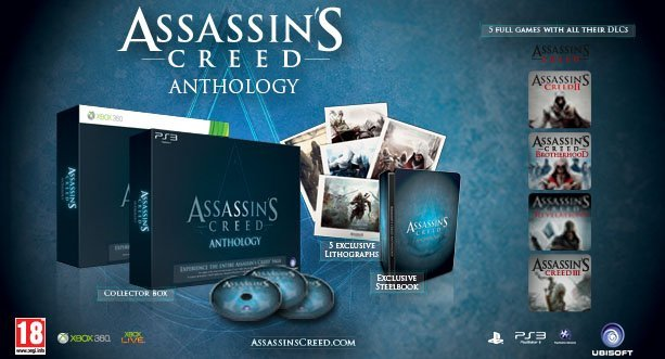 Assassin's Creed: Anthology (English) (Xbox 360)