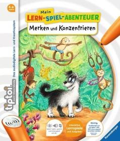 Ravensburger tiptoi Buch: Mein Lern-Spiel-Abenteuer: Merken und Konzentrieren (41808/00676)